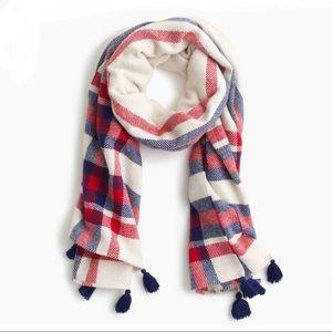 NWOT J Crew Wool blend oversize scarf